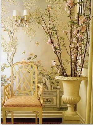 LUSCIOUS STYLE Chinoiserie Furniture Wallpaper Fabric And Accessories