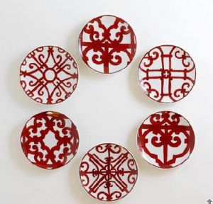Hermes Balcon plates chinoiserie red china collection.jpeg