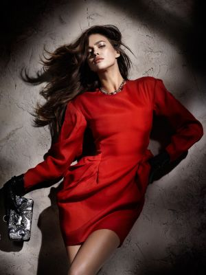 Pictures of Luscious red - Irina Shayk by Santiago Esteban.jpg