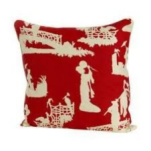 Pictures of Luscious red - chinoiserie cushion.jpg