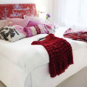 Pictures of red - Red frock on white bedspread.jpg