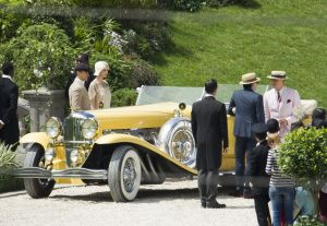 THE GREAT GATSBY CAST FILM IN SYDNEY