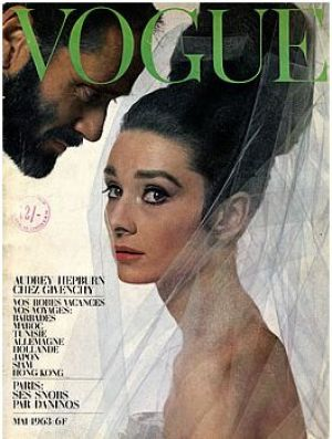 Audrey Hepburn and Mel Ferrer by Bert Stern for Vogue Paris May 1963.jpg