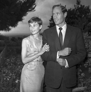 Audrey Hepburn and Mel Ferrer on honeymoon.jpg