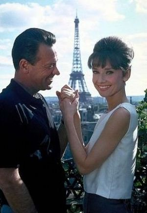 Audrey Hepburn costumes - Audrey Hepburn - Paris When it Sizzles - with William Holden.JPG
