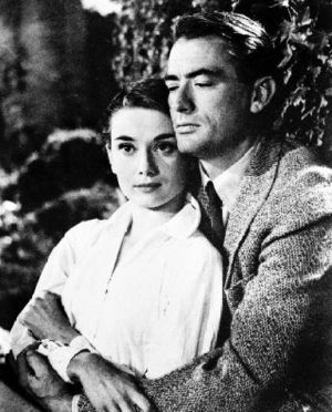 Audrey Hepburn movies - Who is Audrey Hepburn - Gregory and Audrey.jpg