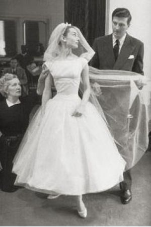 Audrey Hepburn photo - Audrey Hepburn - wedding gown.jpg