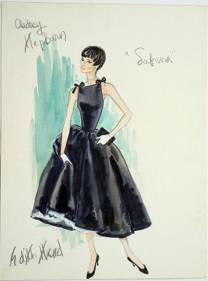 Audrey Hepburn pictures - audrey hepburn sabrina dress design pictures.jpg