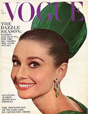 Photo of Audrey Hepburn - Audrey Hepburn - Vogue 1964 November.jpg