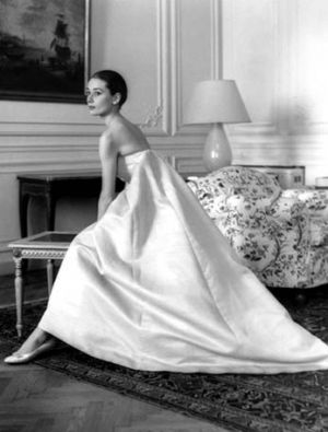 Photo of Audrey Hepburn - Audrey Hepburn - white dress.jpg