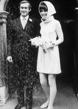 Photo of Audrey Hepburn - Audrey Hepburn and Andrea Dotti wedding dress.jpg