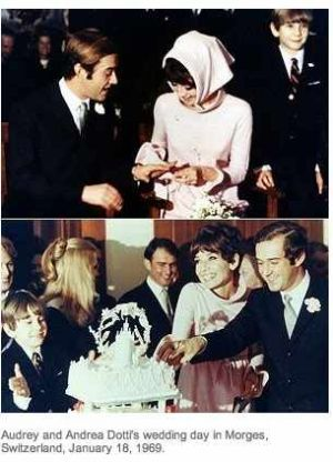 Photo of Audrey Hepburn - Audrey Hepburn and Andrea Dotti wedding.jpg