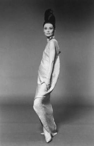 Photo of Audrey Hepburn - style icon - Audrey Hepburn Paris VOGUE 1966.jpg