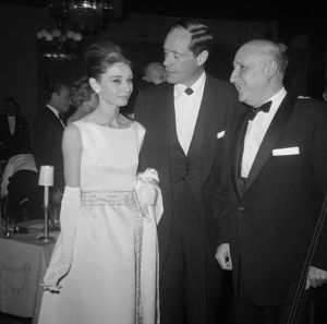 Photo of Audrey Hepburn - style icon - Audrey Hepburn and husband Mel Ferrer.jpg