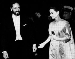 Photo of Audrey Hepburn - style icon - Audrey Hepburn with Mel Ferrer.jpg