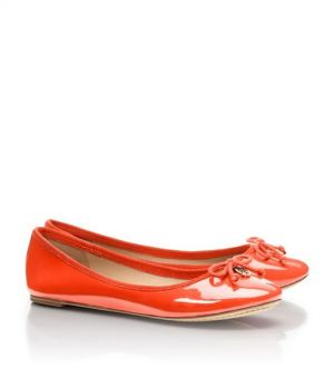 Tory Burch shoes - chelsea BALLET FLAT - Coral.jpg