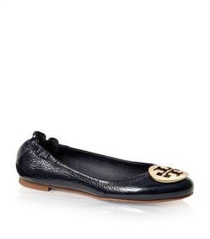 Tory Burch shoes - tumbled PATENT LEATHER REVA BALLET FLAT.jpg