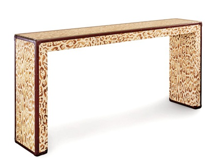 Animal Print Console Bottega Veneta Furniture Decor And Accessories
