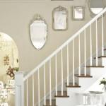 Rose-Filled Vintage Home - Mirrored Stairway