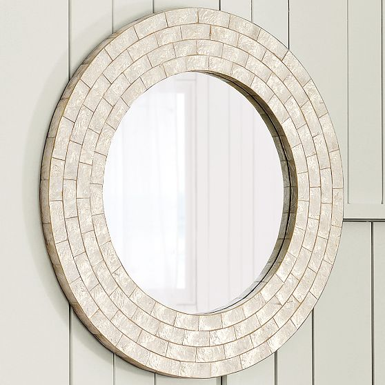 Mother Of Pearl Capiz Mirror