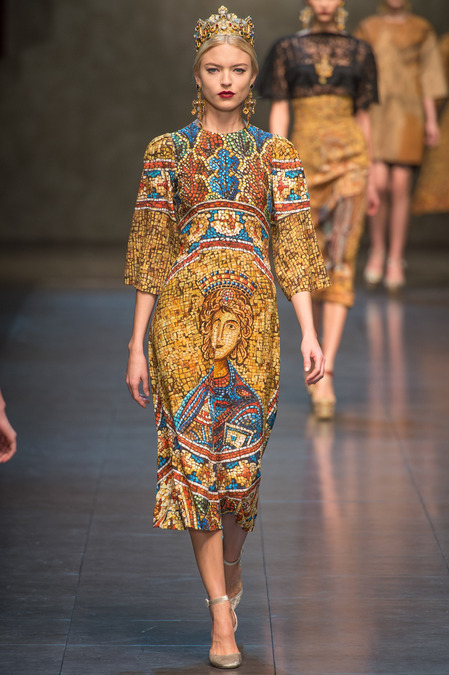 Dolce and Gabbana Fall Collection