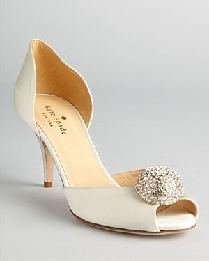Kate Spade New York P Toe Evening Pumps Stimson Wedding Shoes Jpg