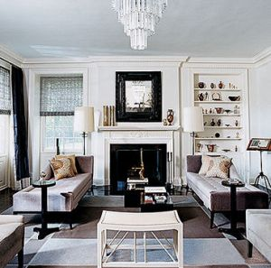 A Glamorous Life Elegant Living Room Ideas. Image Of Hollywood Regency ...