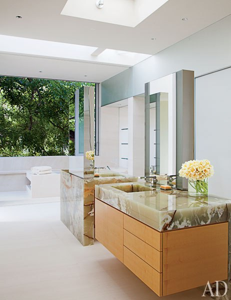faucet sink bathroom architecture and design a contemporary los angeles villa 12824