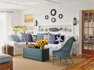 Beach Homes Pictures Decorating Your House Nautical Themed Decor Jpg